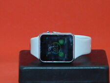 Pre Owned White Silicone Band Smart Watch