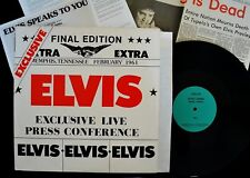 Elvis Presley The Final Edition Live Press Conference 1961 with Inserts