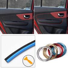 DIY 5 Meter 3mm Car Interior Dashboard Decoration Mouldings Trim Strip Line Blue