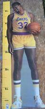 Vintage Magic Johnson Life Size Measure Up Cardboard Cutout NBA🏀Official Lakers