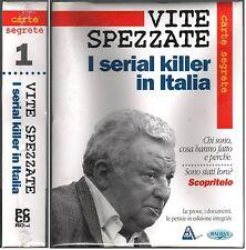 VITE SPEZZATE I SERIAL KILLER IN ITALIA PC CD ROM HALIFAX NUOVO SIGILLATO