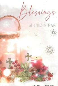 RELIGIOUS CHRISTMAS CARD BLESSINGS AT CHRISTMAS