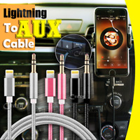 Lightning to 3.5mm Jack Male Audio AUX Cord Cable iPhone 11 Pro XS Max XR X 8 7