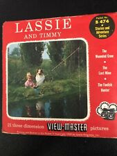 Lassie And Timmy View Master Pictures B474. Excellent condition. Includes story