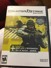Counter-Strike: Source (PC, 2005) 4 DISC SET- FREE FAST SHIPPING!