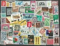 500 Worldwide all mint  all different stamps collection-many thematics.