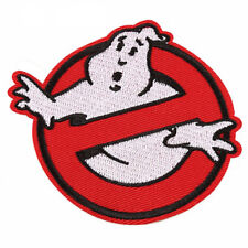 """Ghostbusters No Ghost Cartoon Kids Embroidered Iron Sew On Patch 3.5""""X3.5"""""""