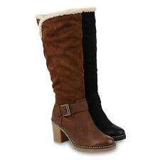 Klassische Damen Stiefel Winter Boots 895841 Schuhe