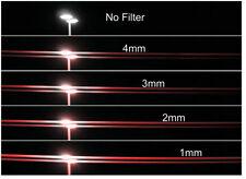 New Schneider 82mm STREAK RED 2mm Rotate Filter Anamorphic Lens Streaks Effect
