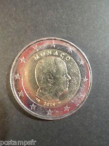 MONACO - pièce de 2 euro 2014, PRINCE ALBERT II, fine COIN