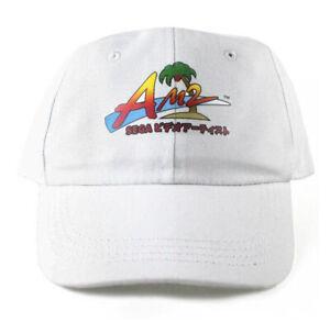 Am2 Sega Japanese 6 Panel cap hat vaporwave dad 5 vtg NEW
