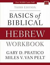 Basics of Biblical Hebrew Workbook by Pratico   Van Pelt, NEW Book, FREE & FAST