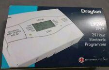 Drayton Lifestyle LP241 24 hour Electronic Heating Timer Programmer