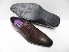 Chaussures de ville marron pour HOMME taille 42 costume cérémonie NEUF #ELG-133