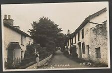 Postcard Flintergill nr Dent Cumbria early village view RP by Simcoe of Kendal
