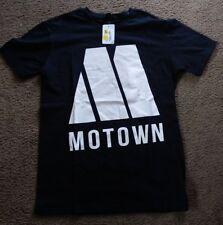 Mens XL Hip Hop Motown Records T Shirt Logo Record Label Detroit Soul Music NWT