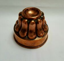 More details for french antique copper jelly / jello mould by charles trottier of paris, 19th c.