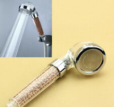 4in1 Filtro de cabeza de ducha de germanio Abeto Ion Ionizador De Agua Elimina Cloro eliminar