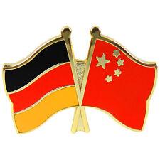 Freundschaftspin Deutschland - China Anstecker Anstecknadel Fahne Doppel Pin