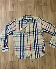 NWT Brand New Burberry Large Button Down  Shirt
