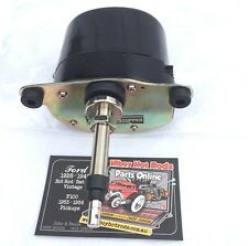 HOT ROD TANDEM WIPER MOTOR 12 VOLT BLACK