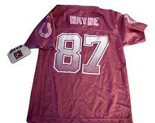 Reebok NFL Girls Youth Indianapolis Colts Reggie Wayne Jersey NWT M