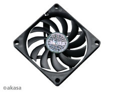 Akasa AK-FN076 Slimfan 80mm x 10.8mm PWM Fan Black