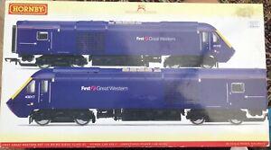 Hornby R2812 FGW Class 43 HST Pair FGW  - DCC Ready - OO Gauge GWR BR INTERCITY