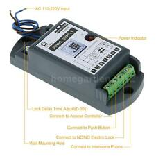 AC 110V-220V to 12V/3A Power Supply for Door Entry Access Control System W0J5