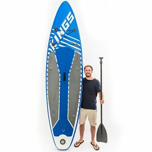 Adventure Kings Inflatable Stand-Up Paddle Board 10ft 6in HUGE 150kg rating
