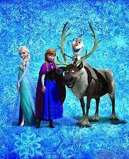 DISNEY 'S la regina di tappeti di panno Frozen Team 130x160cm PASS. ad biancheria da letto