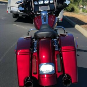 Velocity Red Sunglo CVO Rear Fender System Fit 14-20 Harley Street Road Touring