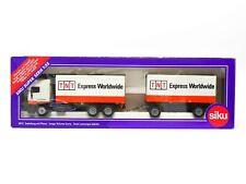 Siku 3515 DAF LKW mit Anhänger (Werbemodell - TNT Express Worldwide) OVP - 2179