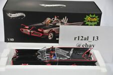 Hot Wheels Elite 1:18 Batmobile 1966 Classic with Batman & Robin figurine BCJ95