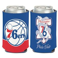 Philadelphia 76ers Wincraft Nba Phila Unite 12oz Can Coolie Free Ship