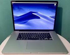 "MacBook Pro 17"" (June, 2009) 240GB SSD 8GB 2.26 GHz Excellent Condition"