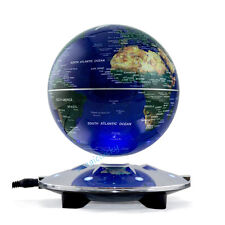 Father's Day Gift Desk Top Deco Present 6inch Magnetic Levitation Floating Globe