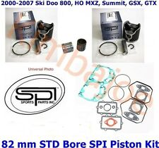 2000-2007 Ski Doo 800 HO MXZ Summit 82 mm STD Bore SPI Pistons Bearings Gasket