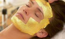 100pcs(4x4cm) 24K Gold Leaf Anti Wrinkle Facial Spa Mask Lifts And Firms Skin