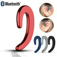 Mini Bluetooth Non Ear Plug Wireless Earphone Microphone Music Sport Headset