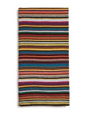 NWT Paul Smith Multistripe Cashmere Blend  Scarf made in Italy. Great gift!