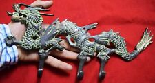 Brass Key Chain Hanger Chinese Dragon Shape Lounge Wall Decor Clothes Hook MJ133