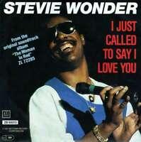 "Stevie Wonder I Just Called To Say I Love Y 7"" Single Vinyl Schallplatte 28232"