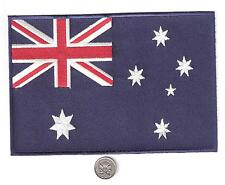 SOUTHERN CROSS PATCH * AUSSIE AUSTRALIAN FLAG XXL 7 INCH Embroidered Iron/SewOn