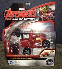 MARVEL AVENGERS  AGE OF ULTRON THOR IRON MAN ARC ATV ACTION FIGURE 2 PACK LEGEND