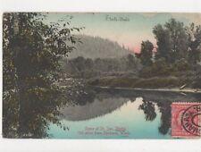 Scene At Joe Idaho 1906 Postcard USA 647a