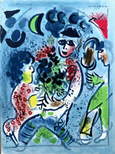 Marc CHAGALL Lithographs 1962-1968 Original Lithograph 12-1/2 x 9-1/4