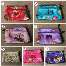 Wholesale10pcs Chinese Handmade Silk Coin Purses Jewelry Pouch Gift Bag