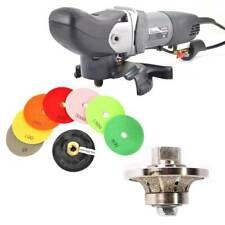 "Variable Speed Wet Grinder /Polisher 3/8"" Diamond Profile Wheel & Polishing Pads"