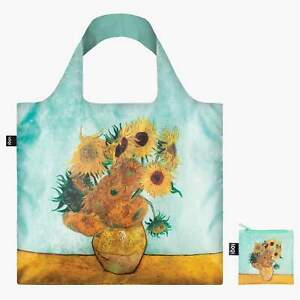 Sunflowers and Vase by Artist Vincent van Gogh best selling LOQI Tote Travel Bag